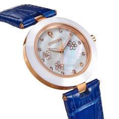 yuwen Genuine Xisida ultra-thin watch Lady Korean fashion fashion watch luminous quartz ceramic watch