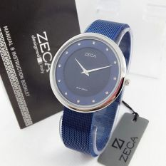 Zeca - Jam Tangan Wanita - Stainless Steel - Zeca ZC1001 Blue