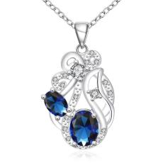 ZUNCLE 925 Silver Plated Necklace Brand New Design Pendant Necklaces Jewelry For Women (Intl)