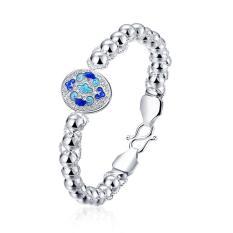 ZUNCLE Latest Women Classy Design Silver Plated Bracelet Factory (Gold) (Intl)