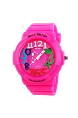 ZUNCLE SKMEI Female Wild Cool Sports Digital Watch (Rose Red)