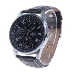 ZUNCLE Stainless Steel Quartz Analog Men's Wrist Watch (Black)