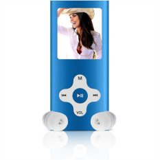 "8GB Slim Digital MP3 MP4 Player 1.8"" LCD Screen FM Radio Video Games Movie New (Blue) (Intl)"