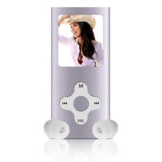 8GB Slim Digital MP3 MP4 Player 1.8inch LCD Screen FM Radio Video Games Movie (Silver)