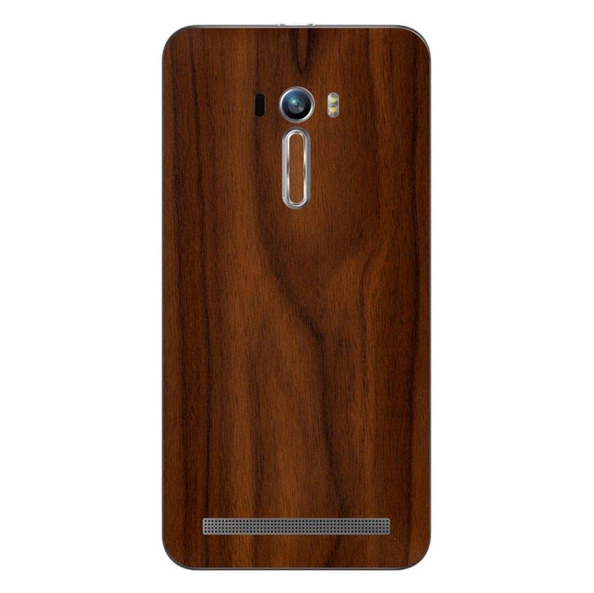 9Skin - Premium Skin Protector Asus Zenfone Selfie ZD551KL - Wood Texture - Coklat
