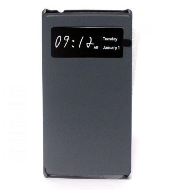 Acer Flip Case Cover Z5 Z5s / Z150 Z150s - Abu-abu