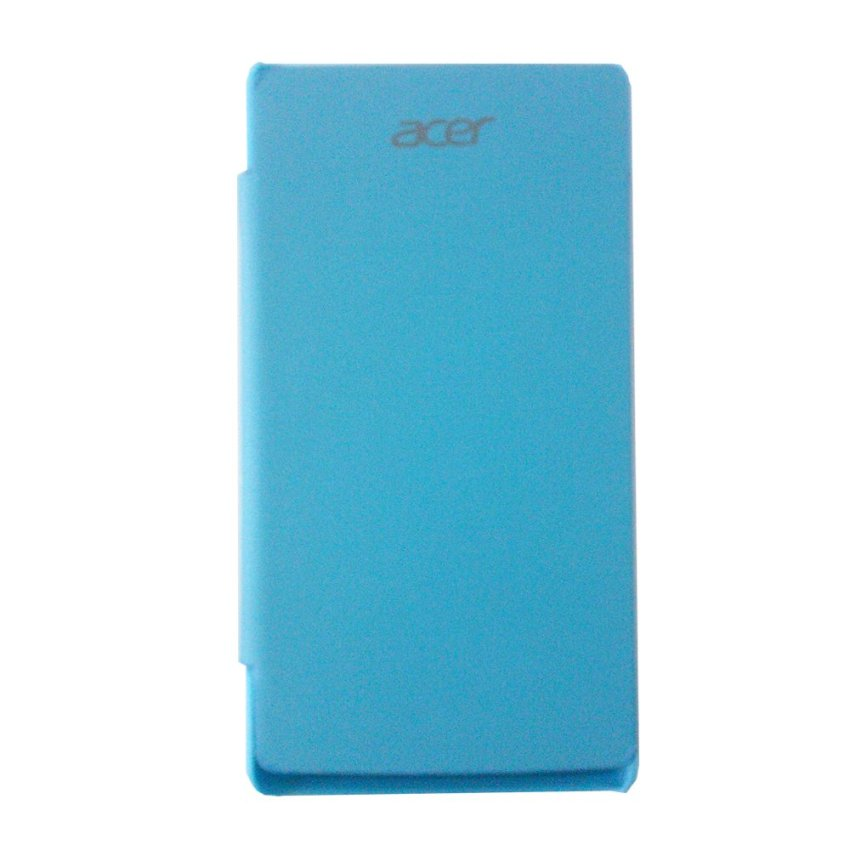 Acer Flip Cover Liquid E3 - Biru + Screen Guard Glare
