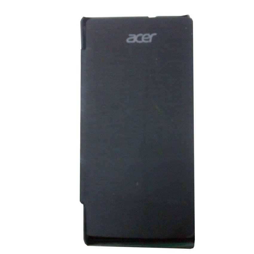 Acer Flip Cover Liquid E3 - Hitam + Screen Guard Glare