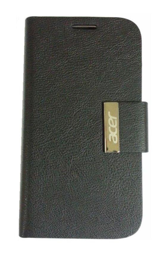 Acer Leather Case V370 Liquid E2 - Flip Cover  Black