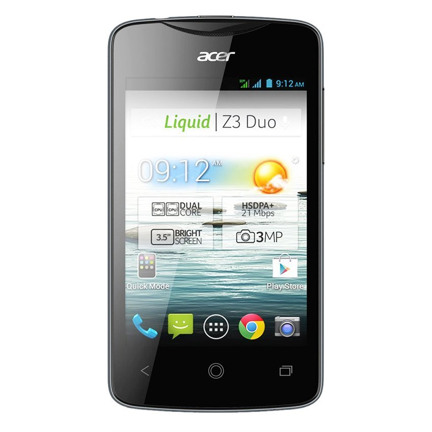 Acer Liquid Z130 - Hitam