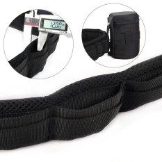 Adjustable Camera Waist Padded Belt Lens Case Pouch Bag Holder Pack Strap - Intl