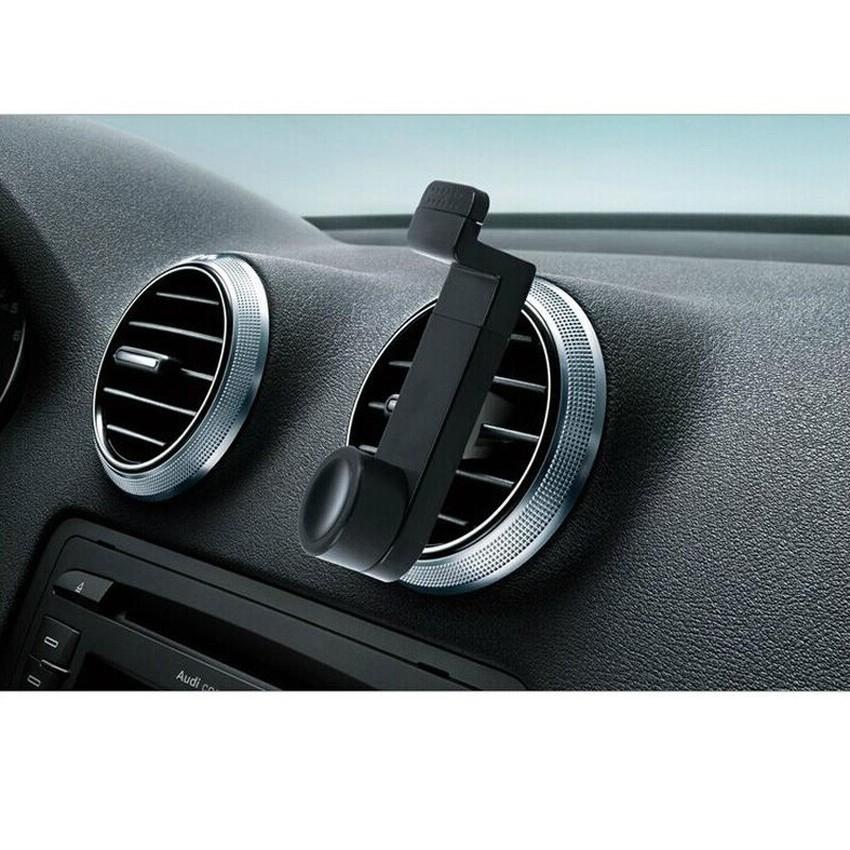 Adjustable Car Air Vent Mount Cradle Holder Stand for iphone Mobile Phone (Black) (Intl)