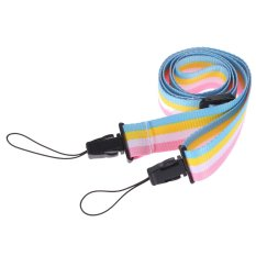 Adjustable Colorful Rainbow Comfortable Camera Neck Strap For Fujifilm Instax Mini 8 70 Instant Film Camera - Intl
