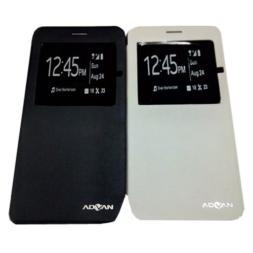 Advan Leather Case S55 - Putih