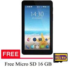 Advan Tablet Vandroid X7 Intel - 8 GB - Hitam + Gratis Micro SD 16GB
