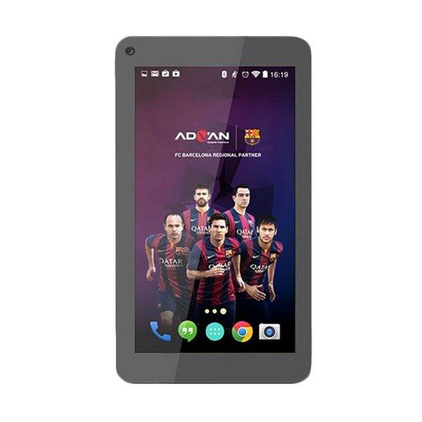Advan Vandroid Barca T2G Tablet WiFi - 4GB - Hitam