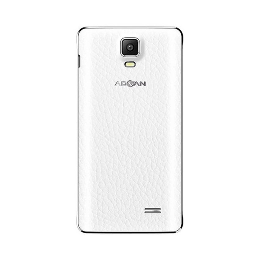 Advan Vandroid S55 - 8GB - Putih + Gratis  Leather Case