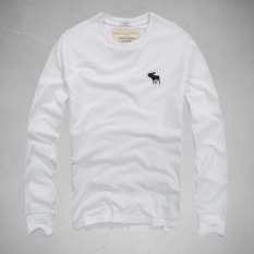 AF Men 's Fashion Crew Neck Cotton Long - Sleeved Casual T - Shirt