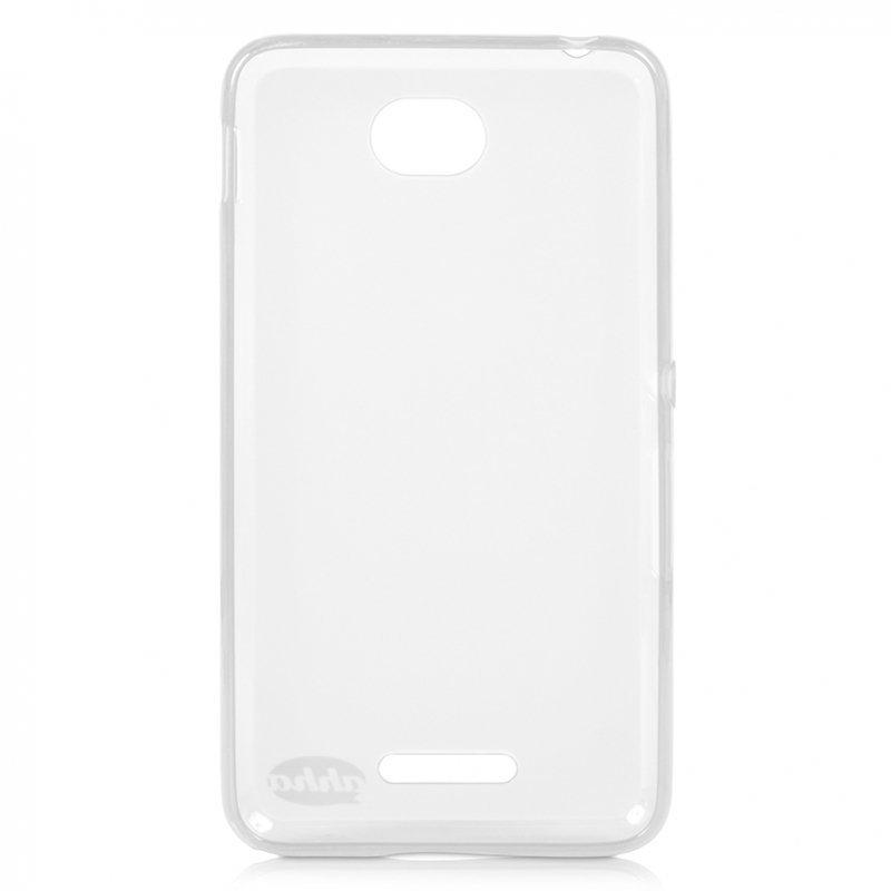 Ahha Moya Gummishell Dual Soft Case for Sony Xperia E4 - Tinted Putih
