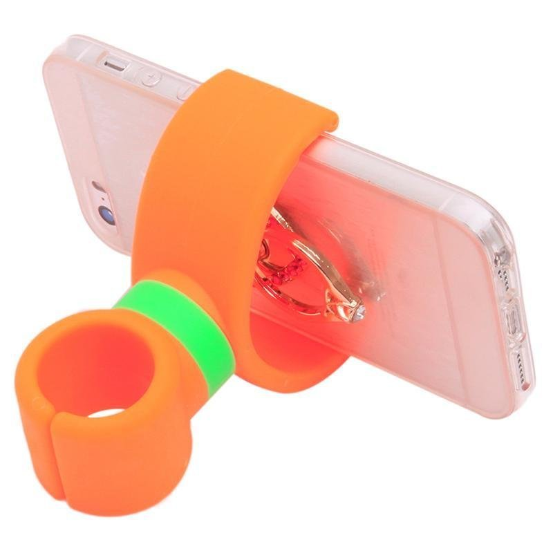 Ai Home Universal 360 Degrees Bicycle Car Cell Phone Holder Stand (Orange) (Intl)
