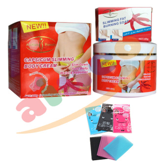Aichun Capsicum Slimming Body Cream And Soap - Krim ...