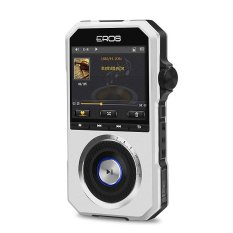 Aigo EROS H06 Portable HIFI Music Player USB DAC Lossless Video SD MP3 Player (Silver)