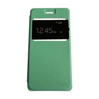 aimi andromax e2 plus flipshell flipcover leather case