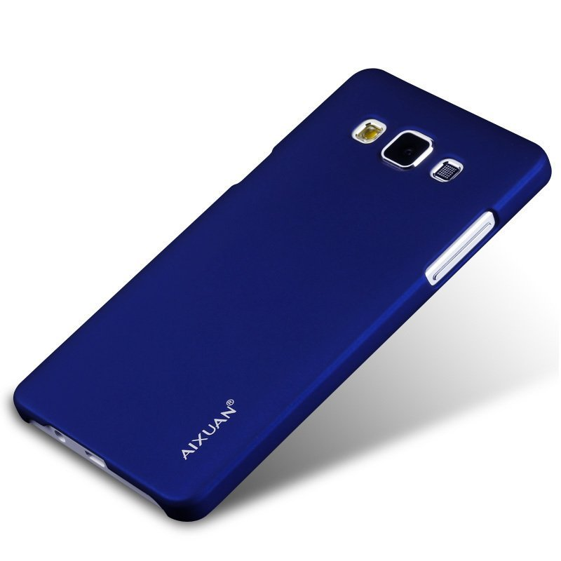 AiXuan Baby Skin Frosted Shield Hard Plastic Back Cover Case for Samsung Galaxy A7/A7000 (Blue) (Intl)