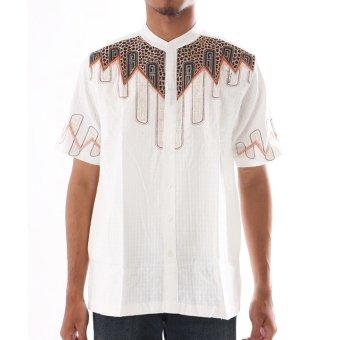 Al Luthfi Baju Muslim Pria Short Slevee D92 Putih