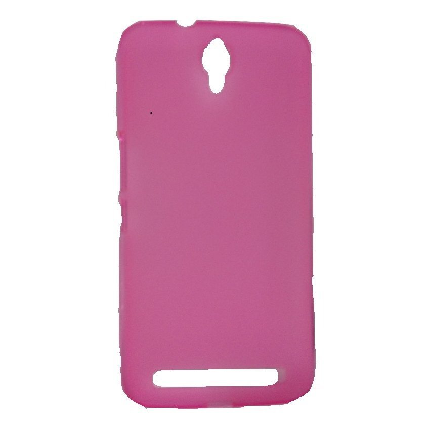 Alcatel Case One Touch Flash Plus - Pink Transparan