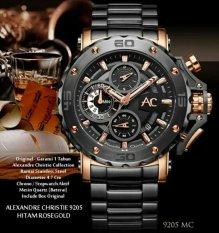 Alexandre Christie - Alexandre Christie Jam TanganPria - RoseGold - 9205