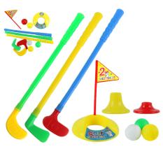 Allwin 1 Set Multicolor Plastic Golf Toys For Children Outdoor Backyard Sport Game