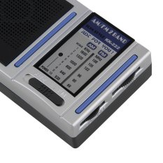 Allwin KK-222 AM FM 2 Band Portable Pocket Radio Analog & Speaker Mini Broadcasting