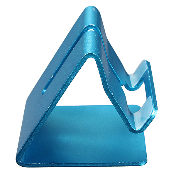 Aluminium Alloy Stand Holder for iPhone 6 Plus 5S/5 iPod Galay S5 S4 (Blue) (Intl)