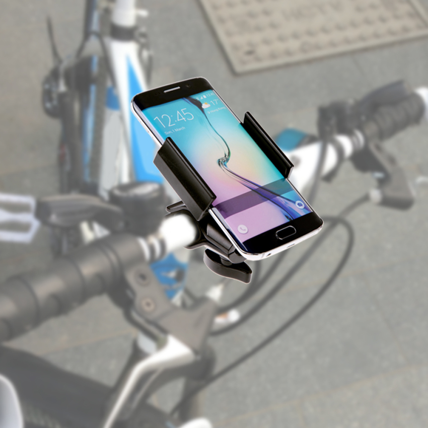 Aluminium Motorcycle Bike Bicycle Handlebar Mount Holder For iPhone Mobile (Intl)