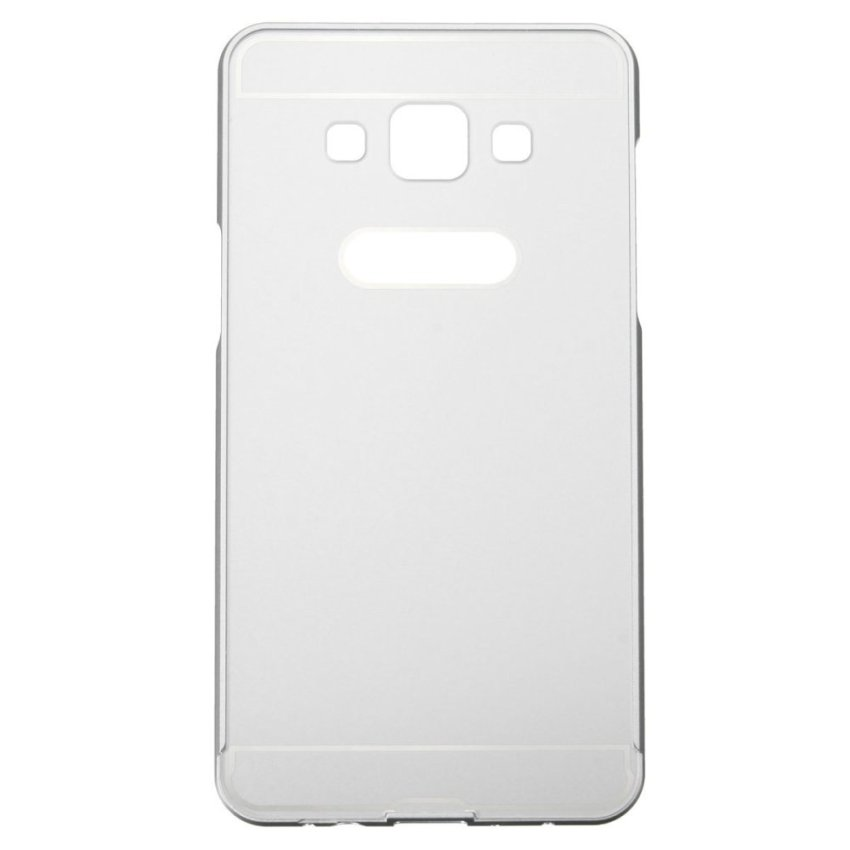 Aluminum Metal Frame PC Back Case for Samsung Galaxy A5 (Silver) (Intl)