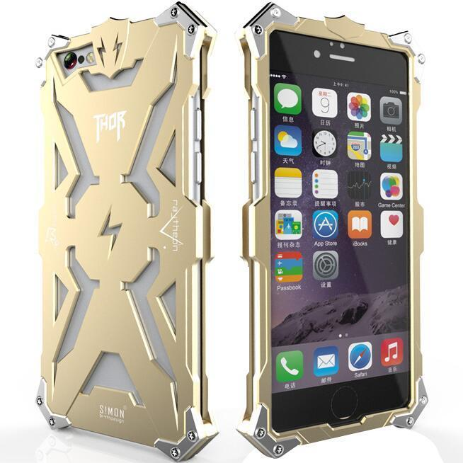 Aluminum Phone Thor Series Aviation Metal Case for Apple iPhone 5 /5s Plus (Gold) (Intl)