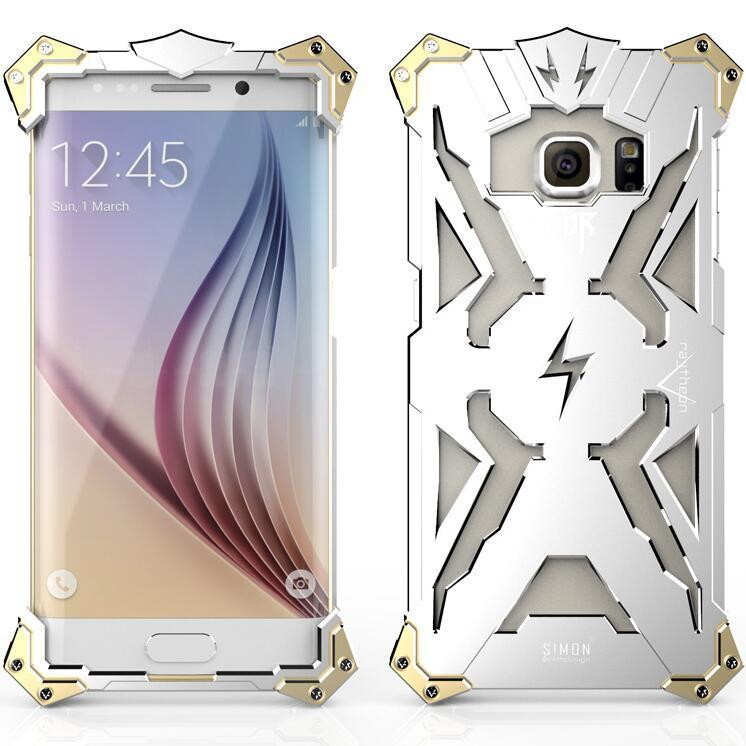 Aluminum Phone Thor Series Aviation Metal Case for Samsung Galaxy S6 G9200 (Silver) (Intl)