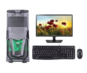 Amd Komputer / PC Rakitan A4 6300 - AMD Radeon HD8370 - Monitor LED LG 16""
