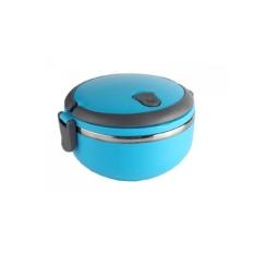 Anabelle Lunch Box / Rantang Stainlees 1 Susun Biru