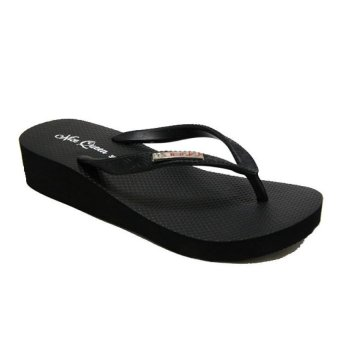 Ando Sandal Jepit Nice Queen Ladies - Hitam | Lazada Indonesia