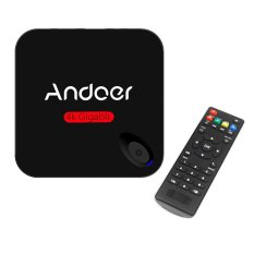 Andoer MXIII-G Android 5.1 TV Box Amlogic S812 Quad Core Cortex-A9 1G / 8G Kodi / XBMC / Miracast / DLNA H.26.4K * 2.2.4.802.11b / G / N WiFi Mini PC Smart Media Player with Remote Controller