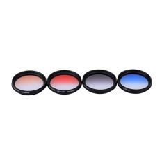 Andoer Professional 40.5mm GND Graduated Filter Set GND4 (0.6) Gray Blue Orange Red Graduated Neutral Density Filter For Canon Nikon DSLR 40.5mm Camera Lens (Intl)