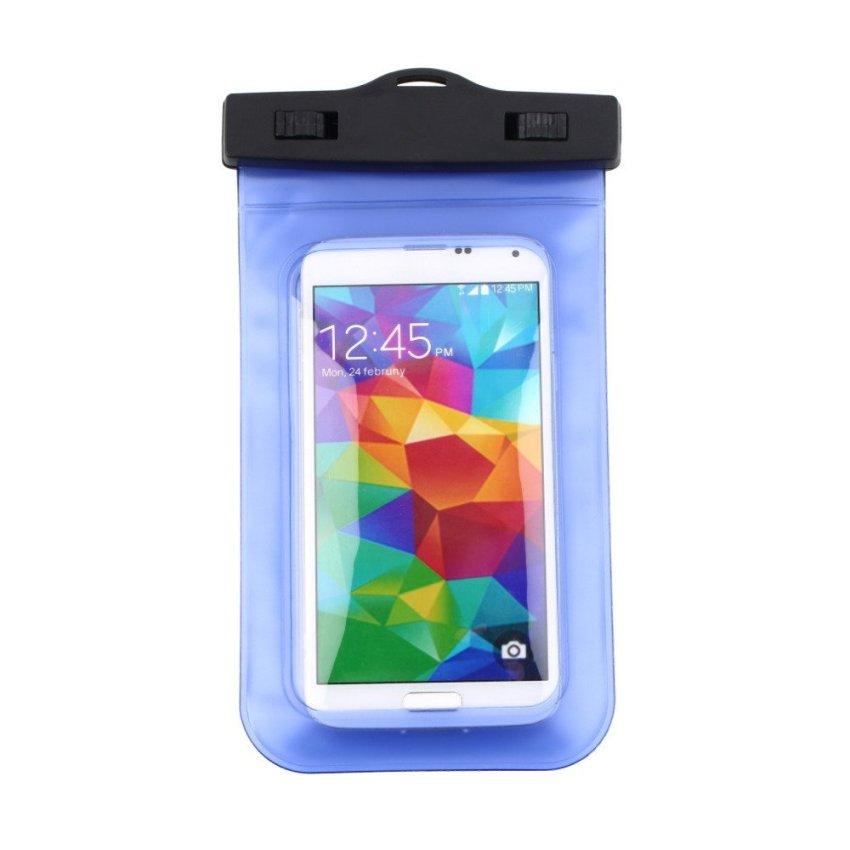 Anekaimportdotcom Underwater Case Handphone - Biru
