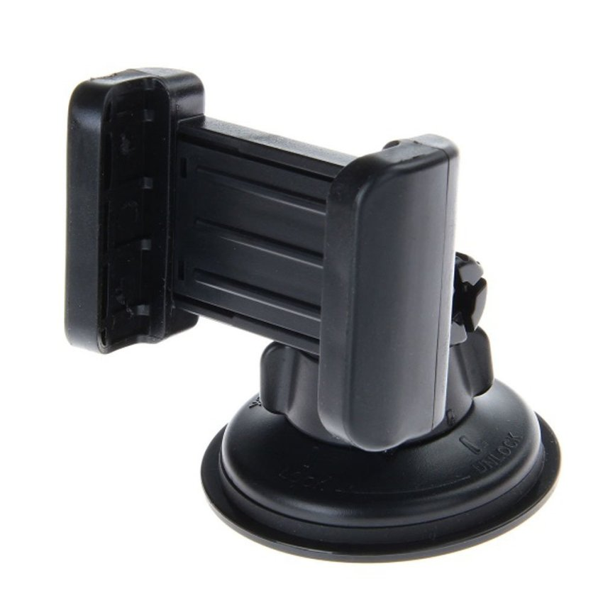 Ansee 360 Degree Car Mount Holder for Mobile Phone Black