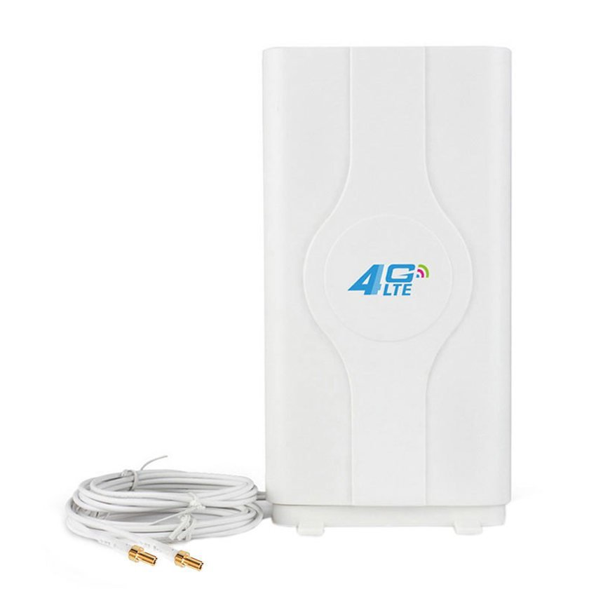 Antena Portable 45dBi Minimax G45 Penguat Sinyal 3G 4G LTE Untuk Modem Sierra 320U Double Pigtail - Putih