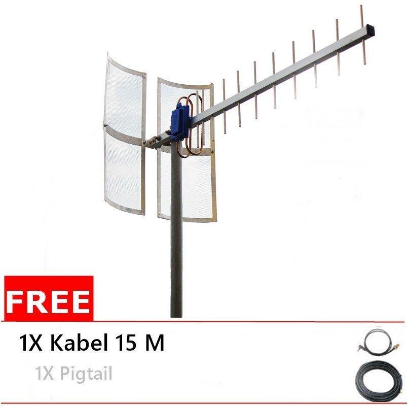 Antena Yagi 75dbi Modem  Huawei E1612 High Extreme 4G LTE / 3G EVDO