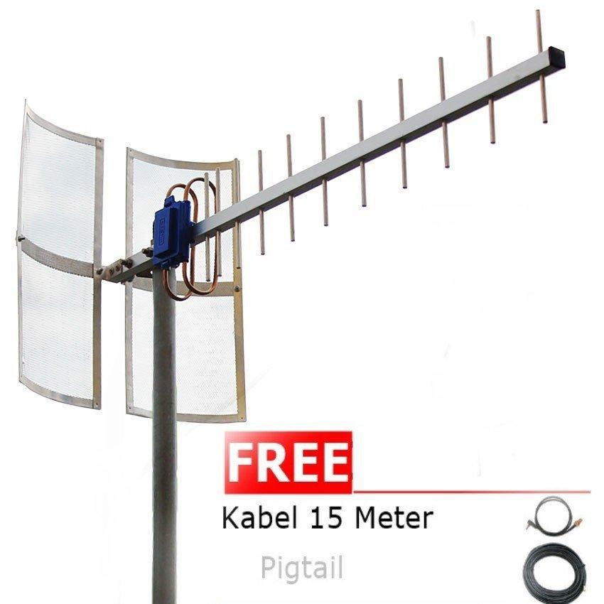 Antena Yagi 75dbi Modem  Huawei E173S-2 High Extreme 4G LTE / 3G EVDO