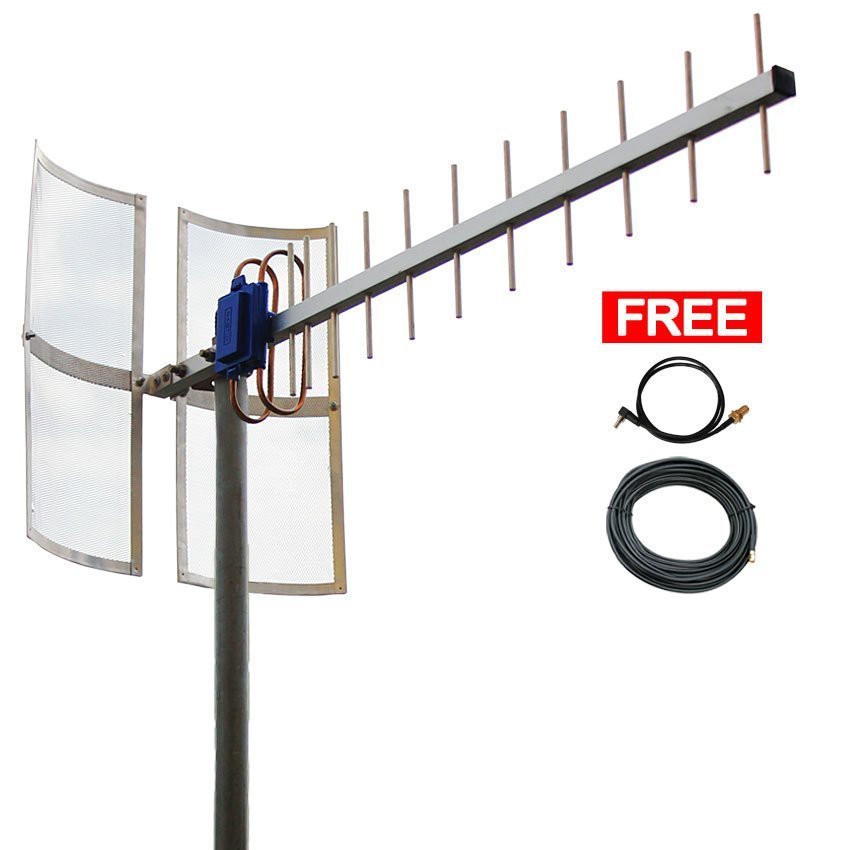 Antena Yagi 75dbi Modem  ZTE MF821D High Extreme 4G LTE / 3G EVDO