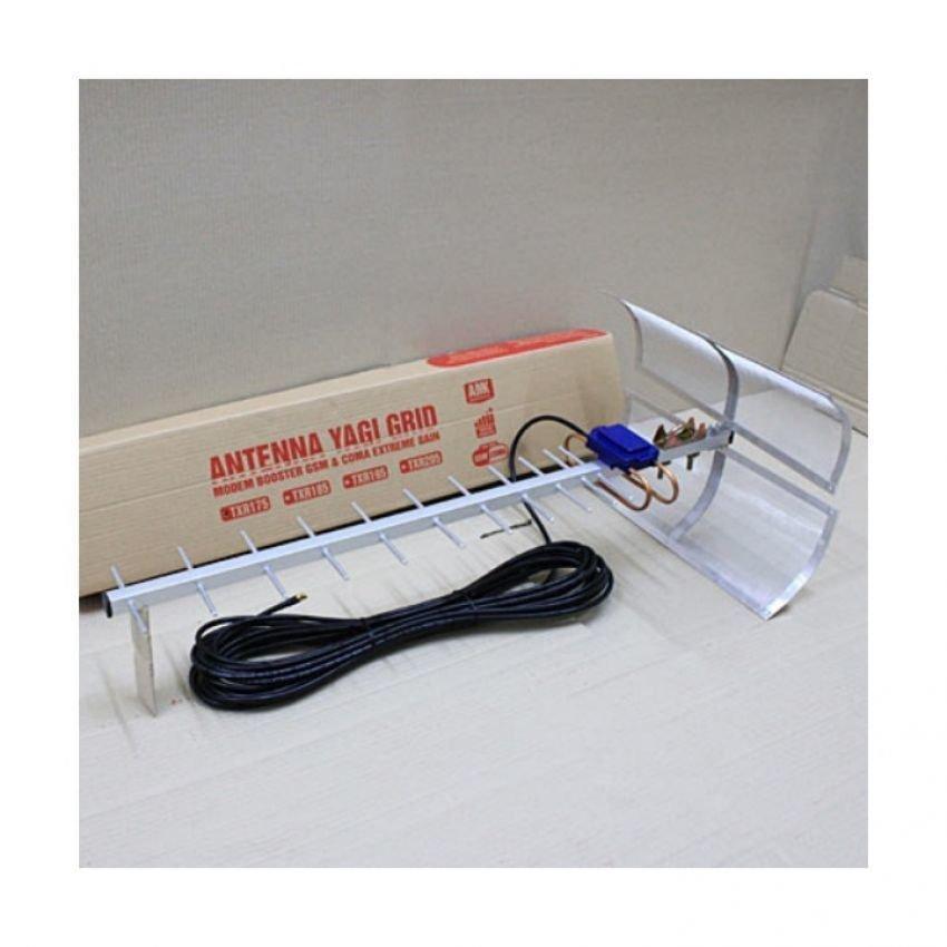 Antena Yagi Penguat Sinyal Modem Sierra 313U High Extreme 75dB Pigtail Original